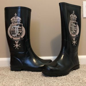 Juicy Couture size 7 rain boots